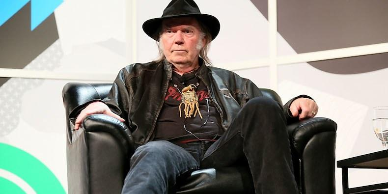 Neil Young Starring in New Western Film