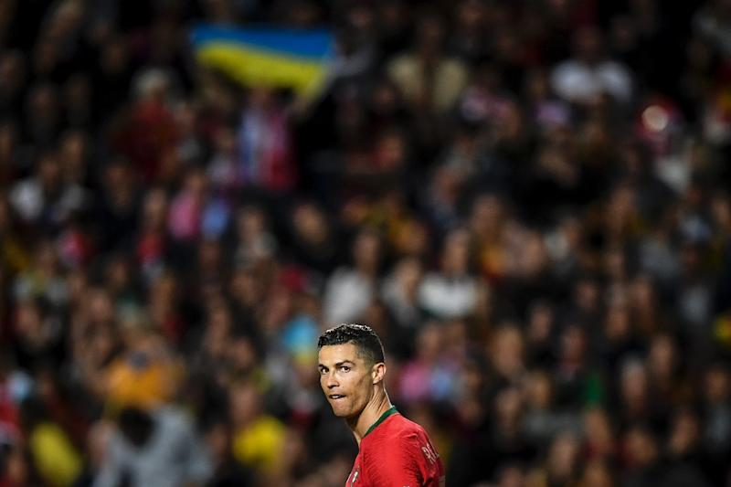Cristiano Ronaldo drew a blank in his first international match in nine months as POrtugal drew 0-0 with Ukraine