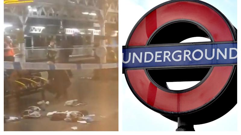 Tube station shooting leaves teenager in 'serious' condition
