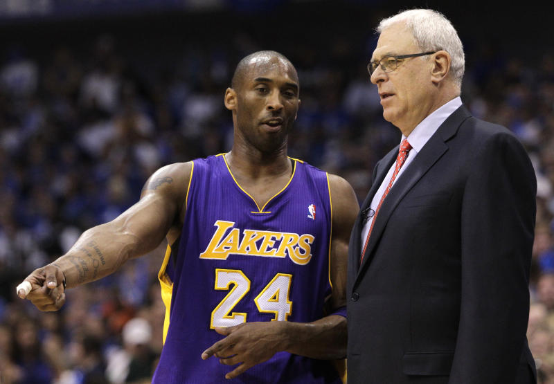 "Kobe Bryant's longtime coach called him ""a chosen one — special in many ways to many people."""