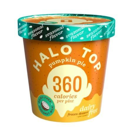 <p><span>Halo Top's Non-Dairy Pumpkin Pie Ice Cream</span> ($8), made from coconut milk, is the front runner of this roundup - because what's fall without pumpkin?</p>