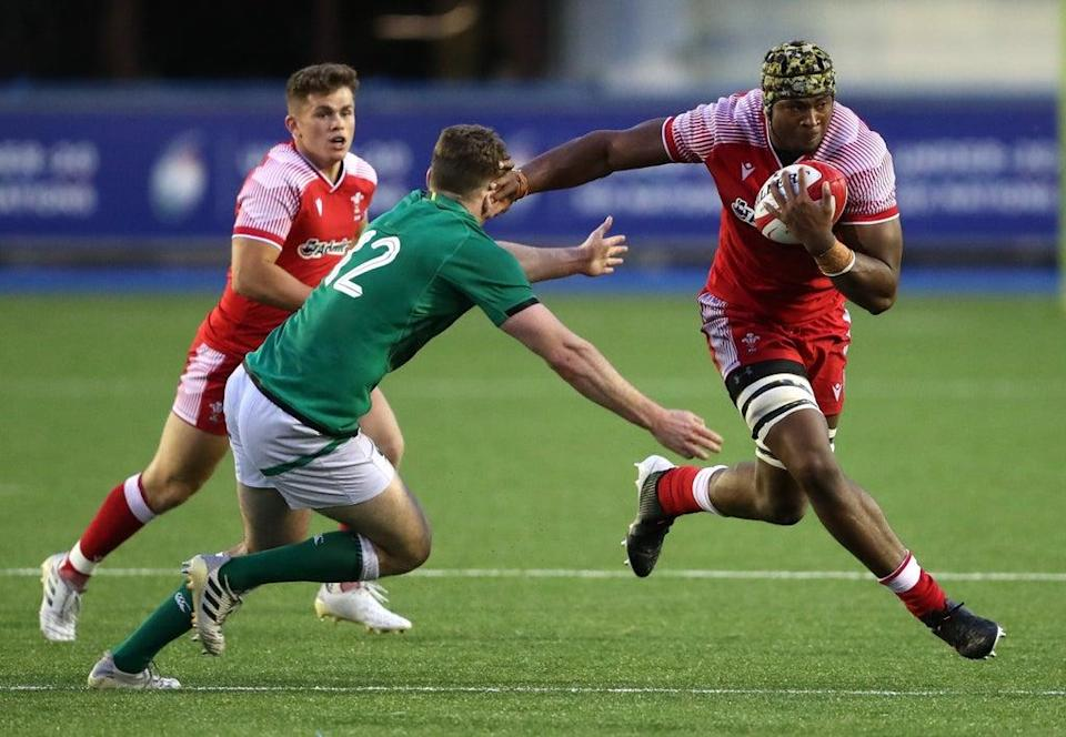 Christ Tshiunza has been called up by Wales (David Davies/PA) (PA Wire)