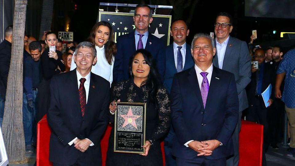 Selena's star on Hollywood Walk of Fame unveiled (ABC News)