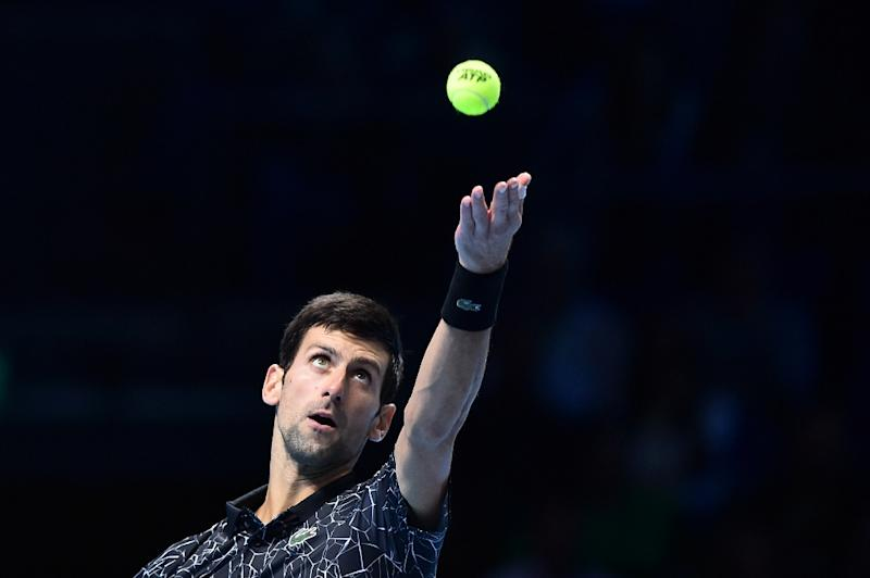 Djokovic makes it 2 wins in London as he comfortably beats Zverev