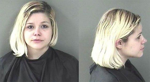 Cheyenne West, 25, was arrested after allegedly trying to pull off a barcode scam. Source: Indian River County Jail.