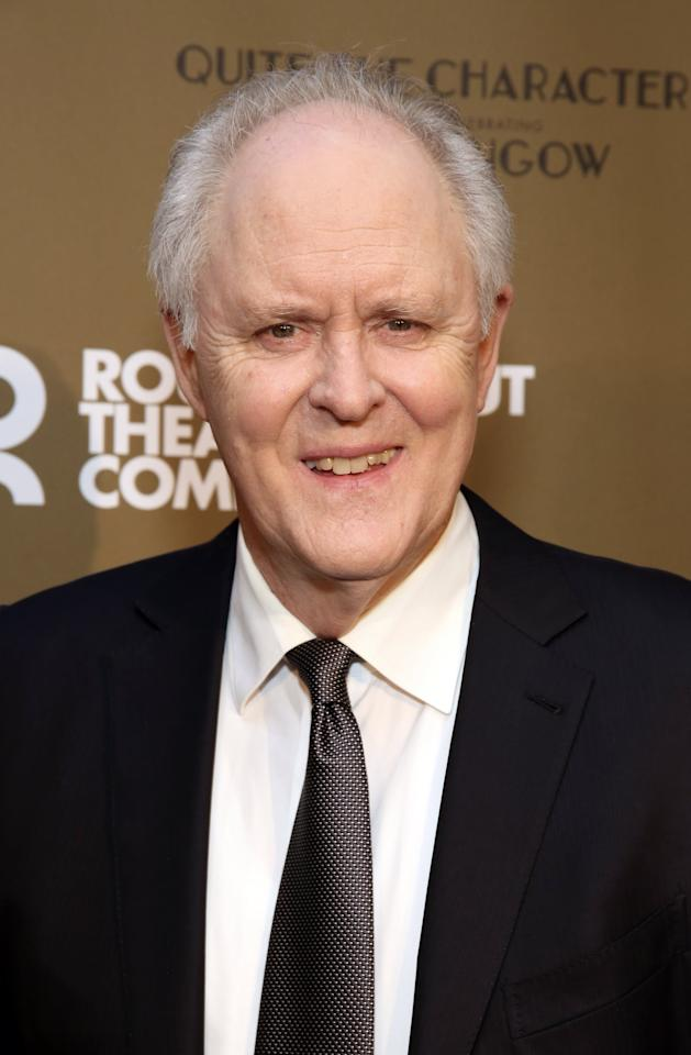 <p><strong>Late Night</strong>'s John Lithgow is playing the late, disgraced Roger Ailes, the villainous chairman of the network who died in 2017.</p>