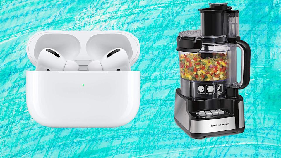 The week's half over, so why not shop some Amazon deals on earbuds, kitchen essentials and more?