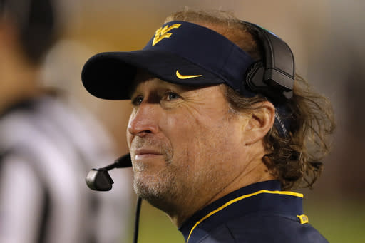 Holgorsen leaving WVU for Houston