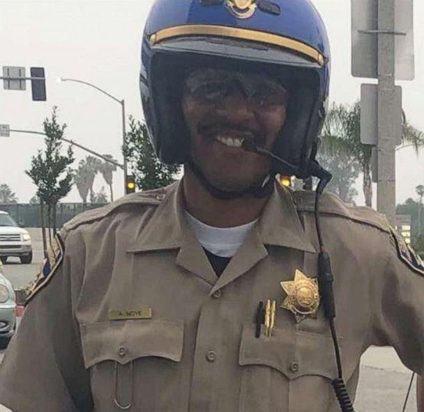 California officer killed in wild shootout with suspect