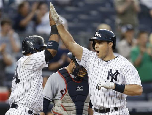 Teixeira's slam leads Yankees over Indians 7-4