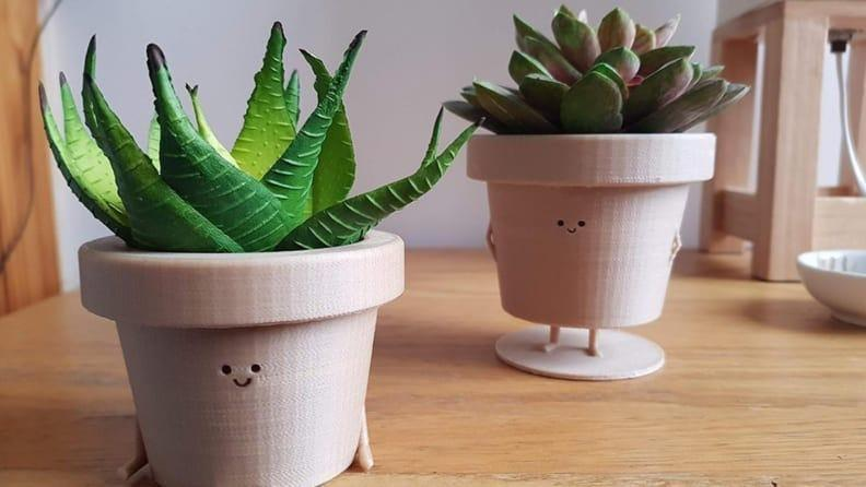 These planters are down-right adorable.
