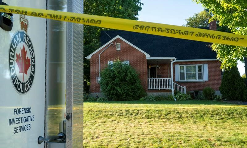 'Taken too soon, too violently,' says woman whose husband, kids were shot dead