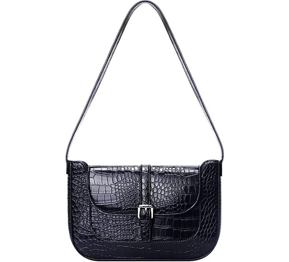 Retro Classic Crocodile Pattern Handbag (Photo: Amazon)