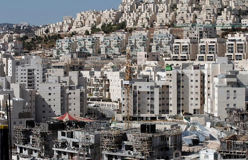 Israel occupied the West Bank and east Jerusalem after the 1967 Six-Day war and the international community considers Jewish settlements -- such as this one at Har Homa -- to be an obstacle to any future peace deal with the Palestinians