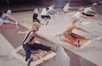 <p>Care patients or people living in retirement communities fully embraced stretching, as it helped them stay limber and was a low intensity option.</p>