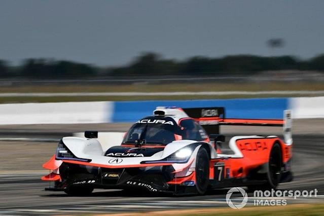 "2019 Twelve Hours of Sebring - #7 Acura Team Penske entry of Helio Castroneves, Ricky Taylor, Alexander Rossi <span class=""copyright"">Scott R LePage / Motorsport Images</span>"
