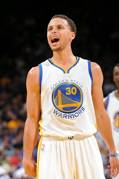 Stephen Curry helped lead the Warriors to a franchise-record 67 victories. (NBAE/Getty Images)