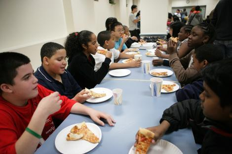 According to Congress, these kids are eating their vegetables.