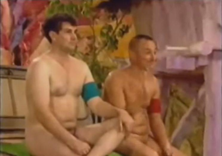 Naked jungle tv show