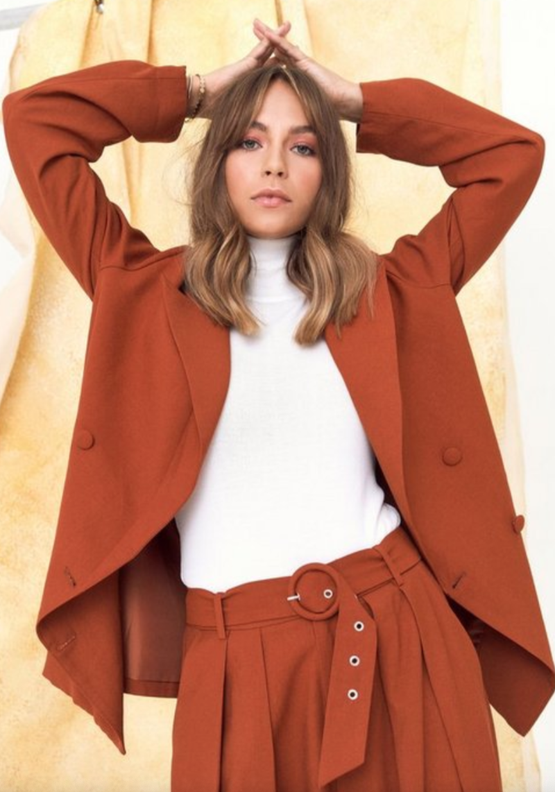 """<br><br><strong>Nasty Gal</strong> We're in Business Oversized Blazer, $, available at <a href=""""https://go.skimresources.com/?id=30283X879131&url=https%3A%2F%2Fwww.nastygal.com%2Fwere-in-business-oversized-blazer%2FAGG62977-1.html%3Fcolor%3D208"""" rel=""""nofollow noopener"""" target=""""_blank"""" data-ylk=""""slk:Nasty Gal"""" class=""""link rapid-noclick-resp"""">Nasty Gal</a>"""