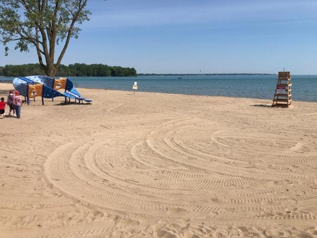 Sandpoint Beach is among three currently closed due to high E. coli levels. (Dale Molnar/CBC - image credit)