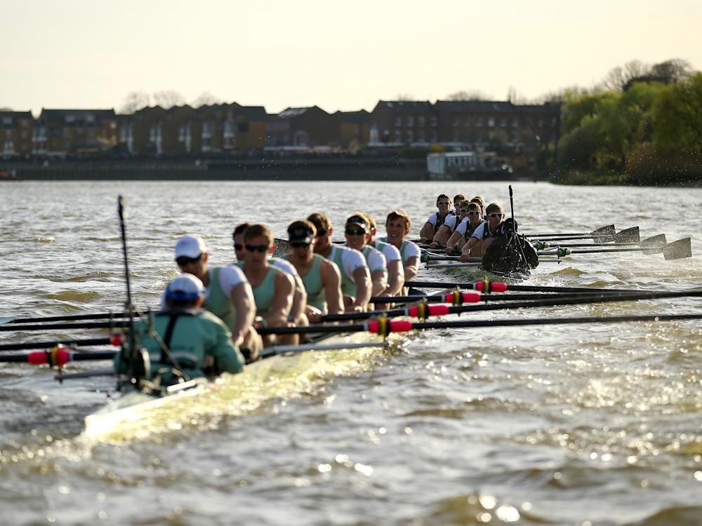 The 2017 Boat Race takes place on Sunday: Getty Images