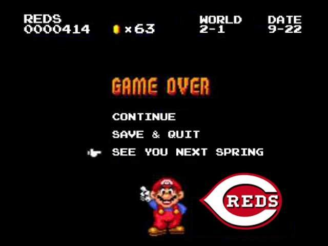Old man Votto and the Cincinatti kids will try to lead the Reds back to glory.