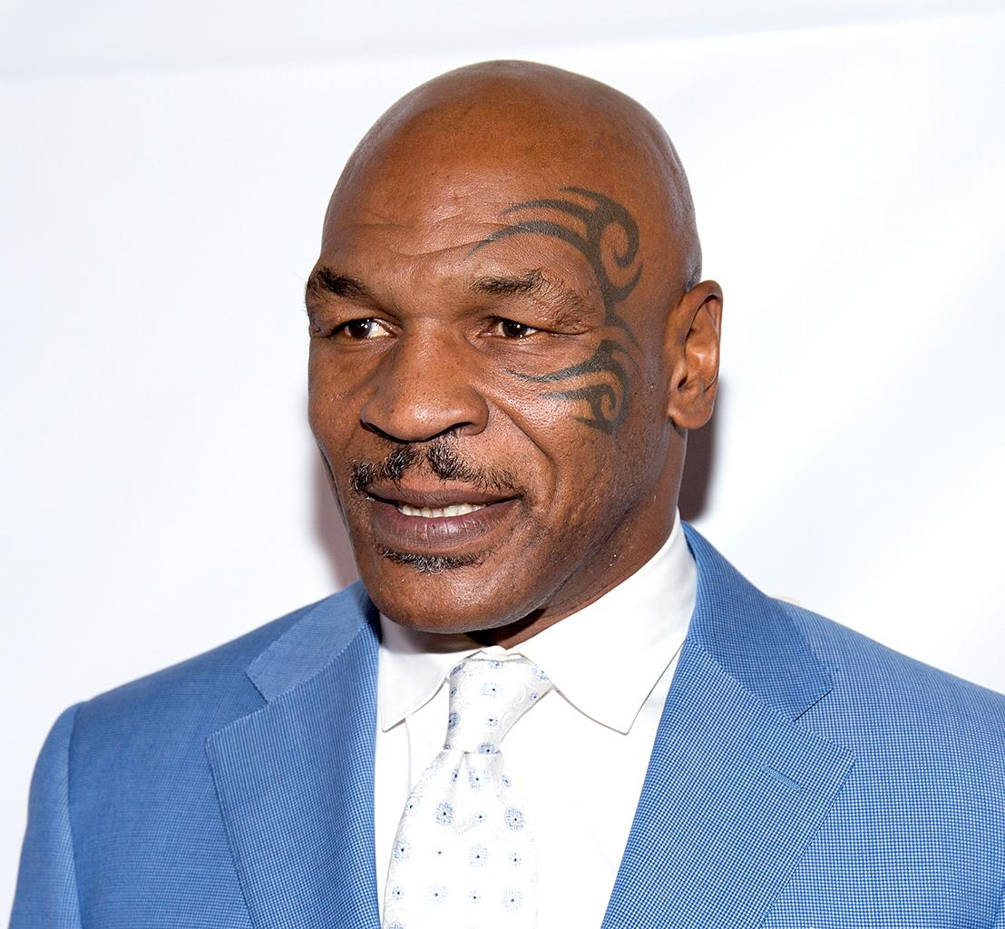 Mike Tyson and his famous face tattoo in 2016. (Photo: Tara Ziemba/Getty Images)
