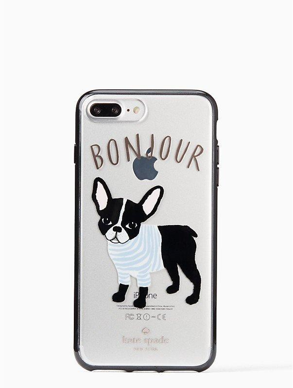 "<p>There is literally no one on planet Earth who can resist going ""aww"" the second they see the <a href=""https://www.popsugar.com/buy/Kate-Spade-Bonjour-Antoine-Case-314243?p_name=Kate%20Spade%20Bonjour%20Antoine%20Case&retailer=katespade.com&evar1=news%3Aus&evar9=44473996&evar98=https%3A%2F%2Fwww.popsugar.com%2Fnews%2Fphoto-gallery%2F44473996%2Fimage%2F44473998%2FKate-Spade-Bonjour-Antoine-Case&prop13=desktop&pdata=1"" rel=""nofollow noopener"" target=""_blank"" data-ylk=""slk:Kate Spade Bonjour Antoine Case"" class=""link rapid-noclick-resp"">Kate Spade Bonjour Antoine Case</a> ($45).</p>"