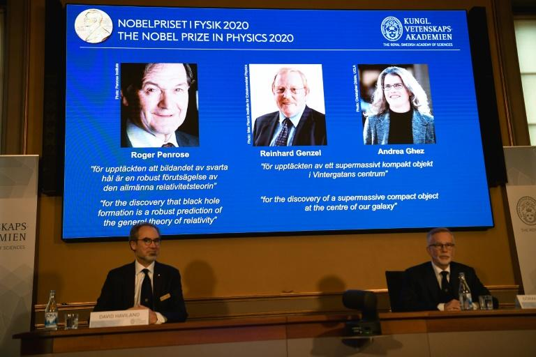 Trio win Nobel Physics Prize for black hole research