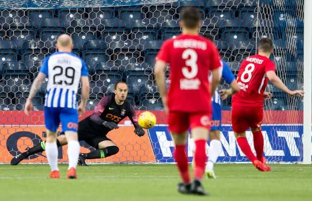 Kilmarnock were left stunned as they were dumped out of the Europa League by Connah Quay Nomads (Jeff Holmes/PA)