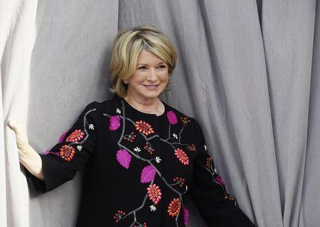 Martha Stewart poses during Comedy Central Roast of Justin Bieber at Sony Studios in Culver City