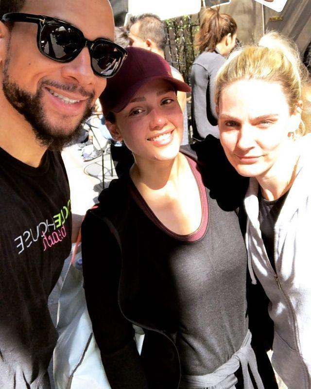 """<p>Jessica posed with her workout buddies and smooth, glowy skin after another cardio session.</p><p><a href=""""https://www.instagram.com/p/Bfl6BoTh_y-/?igshid=s9xxk3wl8vz4"""" rel=""""nofollow noopener"""" target=""""_blank"""" data-ylk=""""slk:See the original post on Instagram"""" class=""""link rapid-noclick-resp"""">See the original post on Instagram</a></p>"""