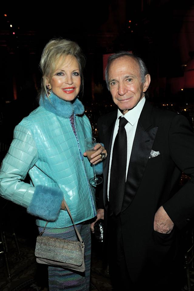 FILE - NEW YORK CITY:  Actor Ben Gazzara (R) and his wife Elke Gazzara (L) attend the amfAR New York Gala to kick off Fall 2011 Fashion Week at Cipriani Wall Street on February 9, 2011 in New York City.  Actor Ben Gazzara has died at the age of 81 from pancreatic cancer on February 3, 2012 in New York City.  (Photo by Larry Busacca/Getty Images)
