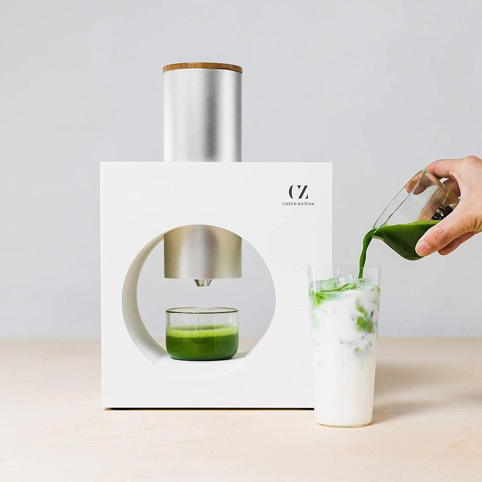 <p>The <span>Cuzen Matcha Maker</span> ($369) is not only gorgeous and convenient, it makes great matcha.</p>