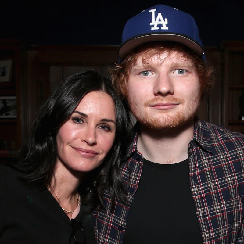 Courteney Cox Would Never Have Met Her Fiancé Without Some Help From Ed Sheeran