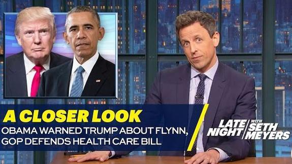 Apparently Paul Ryan Emailed Seth Meyers About Some Health Care Bill