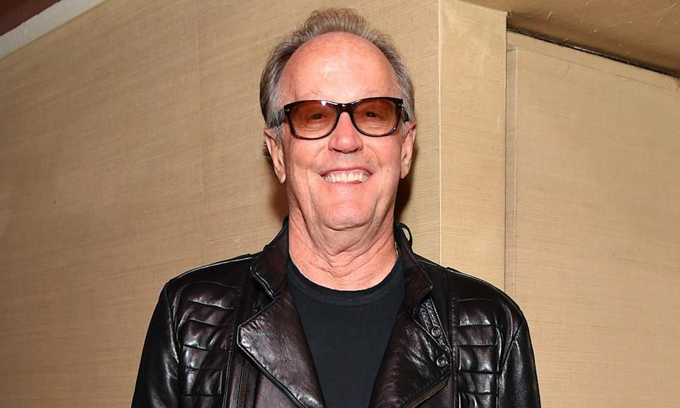"""Peter Fonda <a href=""""https://uk.news.yahoo.com/easy-rider-star-peter-fonda-dead-at-79-225432647.html"""" data-ylk=""""slk:died aged 79 from lung cancer;outcm:mb_qualified_link;_E:mb_qualified_link;ct:story;"""" class=""""link rapid-noclick-resp yahoo-link"""">died aged 79 from lung cancer</a> at his home in Los Angeles in August. Part of the famous Fonda family, he was a twice Academy Award nominated actor who enjoyed success with films <em>Easy Rider </em>and <em>Ulee's Gold</em>. (Photo by Dia Dipasupil/Getty Images)"""