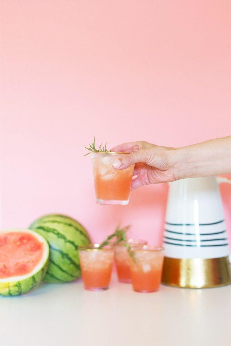 """<p>#SummertimeVibes.</p><p>Get the recipe from <a href=""""http://lovelyindeed.com/spiked-watermelon-rosemary-punch-for-july-4th/?crlt.pid=camp.wSdRYgb63ZVF"""" rel=""""nofollow noopener"""" target=""""_blank"""" data-ylk=""""slk:Lovely Indeed"""" class=""""link rapid-noclick-resp"""">Lovely Indeed</a>.</p>"""
