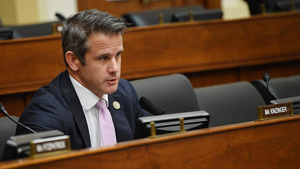 Rep. Adam Kinzinger (R-IL)  on Capitol Hill on September 16, 2020 in Washington, DC. ( Kevin Dietsch-Pool/Getty Images)