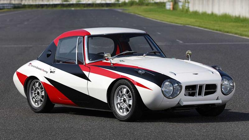 1960s Toyota Race Car Receives Much Needed Factory Restoration