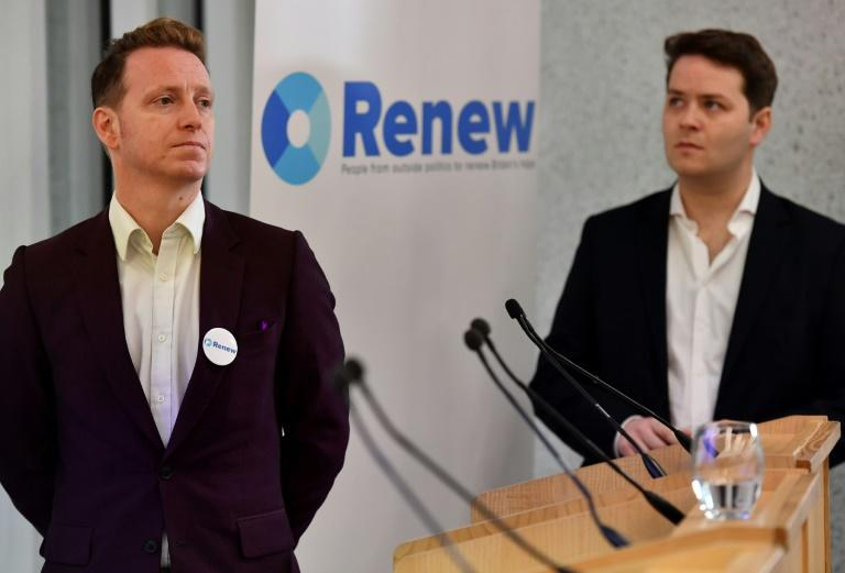 James Clarke (left) and James Torrance are co-leaders of the anti-Brexit political party Renew