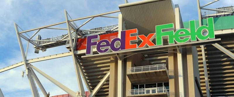 LANDOVER, MD - SEPTEMBER 23: FedEx Field in Landover, Maryland on September 23, 2014. FedEx Field is a football stadium and home of the Washington Redskins of the NFL.