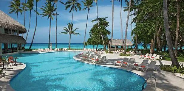All-inclusive 4-night-stay the Sunscape Dominican Beach Punta Cana. Travel dates: April through Aug. 17. Select dates through end of March. <span>Visit the deal</span>.