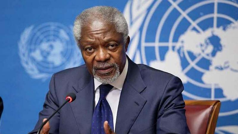 OPM pays tribute to Kofi Annan