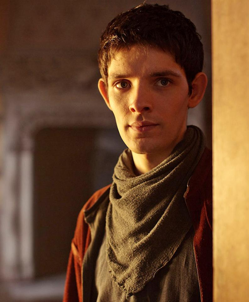 "Colin Morgan stars as Merlin, the young warlock who is key to the destiny of Camelot in ""Merlin."""