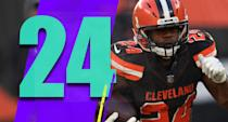 <p>Nick Chubb looks like a really good back. Don't forget, the Browns got him with the draft pick obtained for eating $16 million of Brock Osweiler's contract. (Nick Chubb) </p>