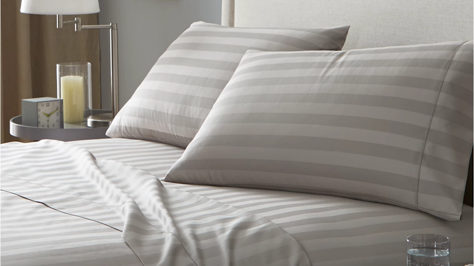 These sheets are less than $35 at Macy's right now.