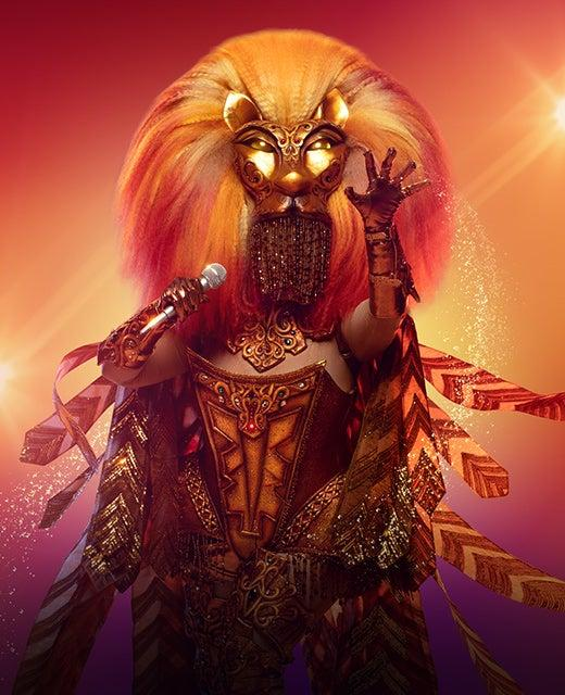 The Lion on The Masked Singer Australia 2019. Photo: Channel 10