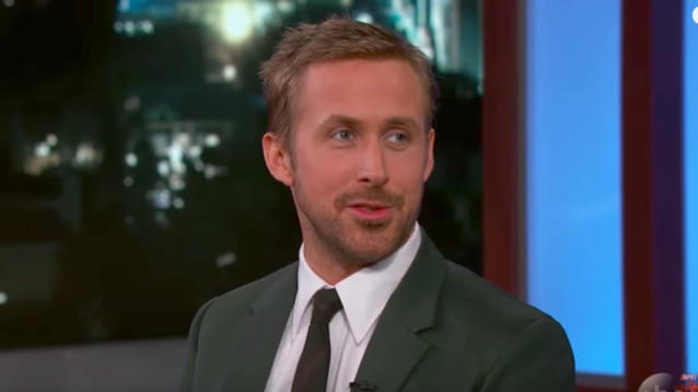 """When Ryan Gosling traveled to New York City to host """"Saturday Night Live,"""" he brought his family with him."""